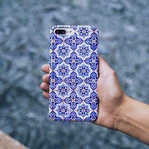 BURGA Case iPhone 11 Blue City Moroccan Tiles